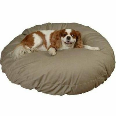Snoozer 61108 Small Round Pillow Pet Bed, All Fabric, Olive