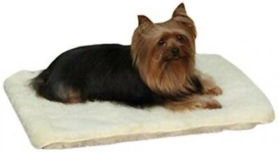 Slumber Pet Double-Sided Sherpa Mat, X-Small, Natural