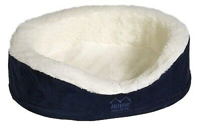 Midwest Quiet Time e'Sensuals Orthopedic Nesting Bed, 36 Diameter (Navy)
