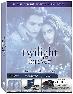 The Twilight Saga: The Complete Collection DVD 2013 12-Disc Set BRAND