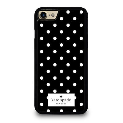53453KATE-SPADE90786POLKA-BLACK for iphone samsung galaxy case