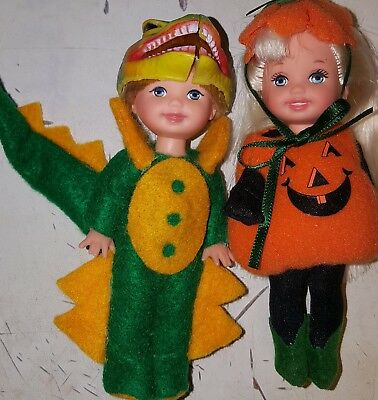 Halloween - Kelly Tommy & Friends Costume Doll -  Large Lot