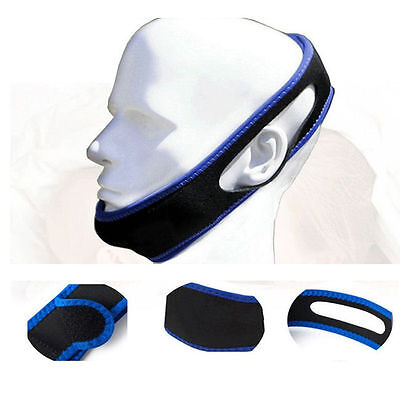 New Helpful Anti Snoring Belt Snore Stopper Chin Jaw Strap Supporter Sleep 4041