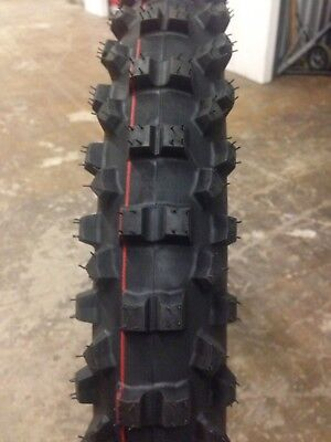 Zeltex Motocross Tire Set 110-90-19 & 100-80-21 Standard Size Soft Intermediate