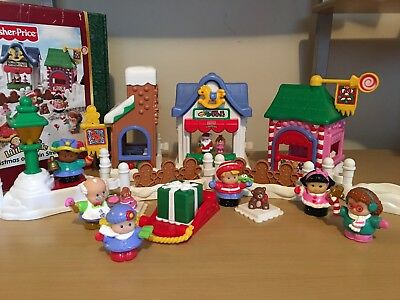 Fisher-Price Little People Christmas On Main Street Children's Play Set