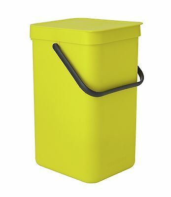 Brabantia 12 Litre Sort and Go Waste Bin - Yellow. From the Argos Shop o V100087