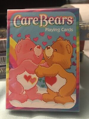 New Factory Sealed Care Bears Playing Cards 2003 Bicycle CareBears
