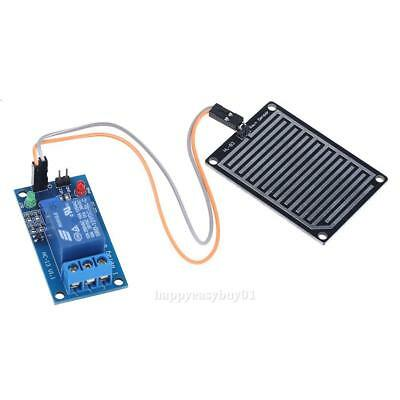 12V Raindrop Humidity Control Sensor Relay Module Switch for Arduino Adjustable