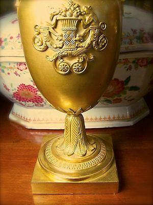 Russian Ormolu Urn With Bear Motif Early Regency 19Th Century
