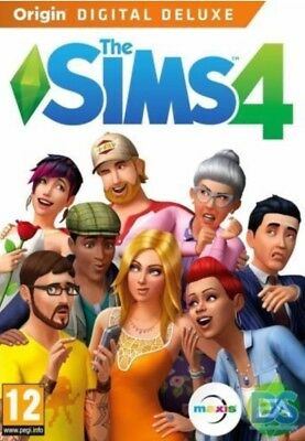 The Sims 4 Digital Deluxe (Pc/mac) Full Game Multilanguage Sale