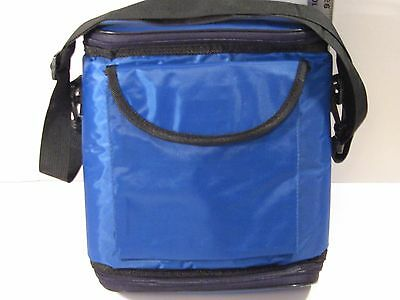 Blue Nylon Thermal Insulated Carry Bag For Food & Perishables/great Condition