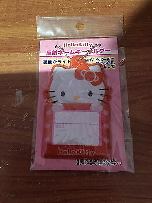 Official Sanrio HELLO KITTY Name Tag for Travel Backpack Luggage Japan Exclusive