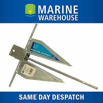 Super Sandy Galvanised Sand Anchor 3LB - 1.4KG Small Boat Marine 106003