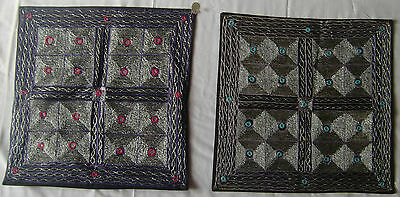 Beautiful Handmade Old Vintage Patch Work Cushions/pillow Cover India Fine Art21
