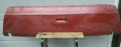 1973-1977  El Camino SS GMC Sprint SP Tailgate tail gate endgate
