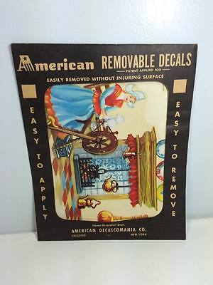 Vintage American Removable Decals American Decalcomania Co. New York