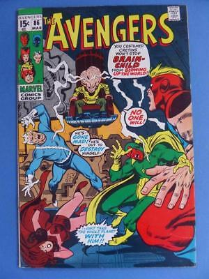 The Avengers 86 1971 Great Book!
