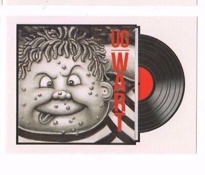 2017 Garbage Pail Kids - Concert Posters & Album Covers Ug Wart #7 Of 10