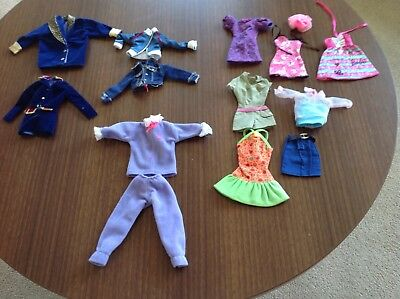 job lot of barbie and sindy clothes