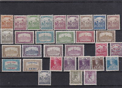 Hungary 1916-18 Harvesters / Charles / Zita / Airs Issues MH* (some MNH**)
