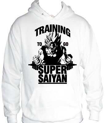 3ed54e3b39f3 fm10 hooded sweatshirt man SUPER SAIYAN Dragon Ball training to go sport  CARTOON