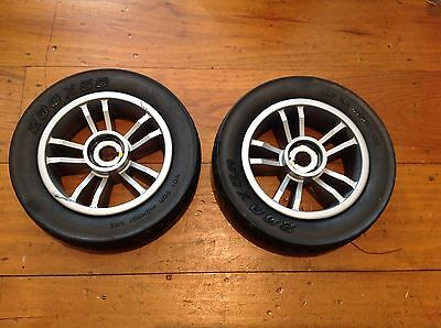 Rascal Veo X Wheels and Tyres Back Pair