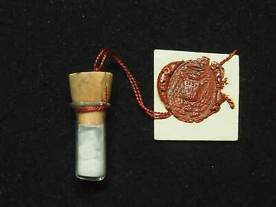 Christian Reliquary, Relic Of The Holy House Of Nazareth With Wax Seal