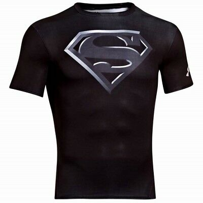 UNDER ARMOUR ALTER EGO SUPERMAN SHORT SLEEVE COMPRESSION TOP, XL, rrp $70.00!