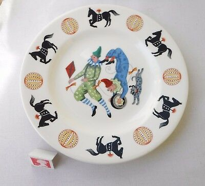 Wedgwood ~Big Top~  Circus Plate