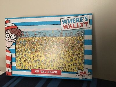 Where's Wally Beach 250 Pieces Puzzle From Paul Lamond Games
