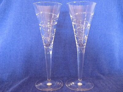 Waterford - Jasper Conran - Pair of Champagne Flutes