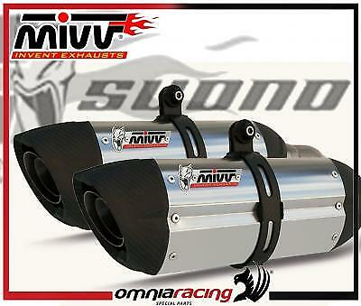 Exhaust Mivv Suono Full Titanium for Ducati 848 2008>2011