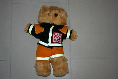 Mfb Cfa Country Fire Authority Bear Fire Fighting Fireman Victorian Melbourne