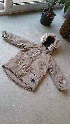 Kids Beige Polarn O.Pyret Parka Coat age 2-3 yrs in excellent condition