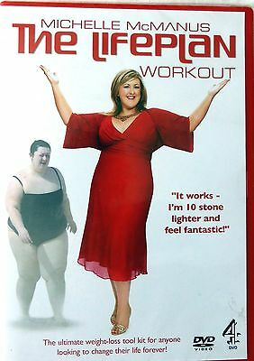 Michelle Mcmanus Exercise/fitness Workout (Dvd) New & Factory Sealed Free P&p