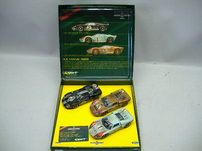 Scalextric 07765 Ford GT 40 LE MANS 1966 Limited Edition 1:32  NEU & OVP
