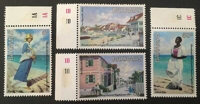 Bahamas 1983 SG658-661 MNH American Loyalists Set of 4.