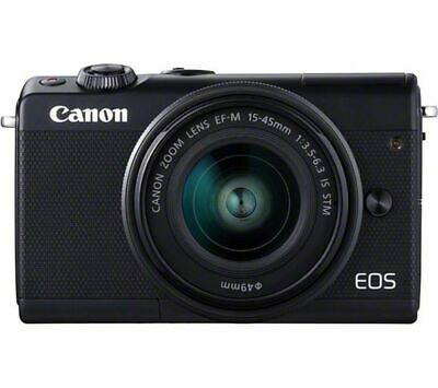 CANON EOS M100 Mirrorless Camera & EF-M 15-45 mm f/3.5-6.3 IS STM Lens - Currys
