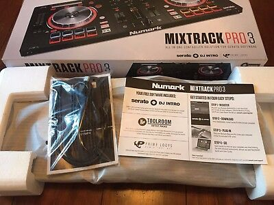 Numark Mixtrack Pro 3 DJ Controller with Serato DJ - Boxed in Perfect Condition