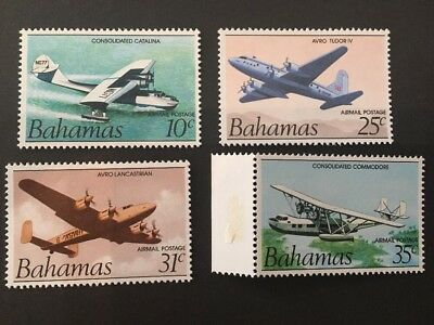 Bahamas 1983 SG663-666 Mint Air Bicentenary of Flight Set of 4.