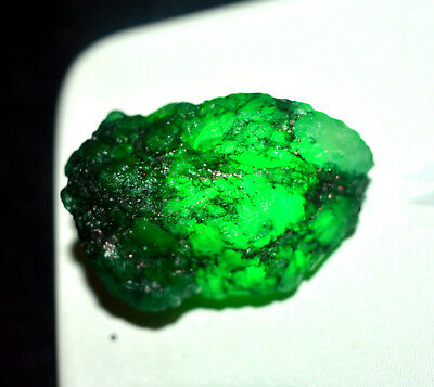 109.10 Ct Natural Colombian Green Rough Emerald Fabulous Gems For Best Quality**