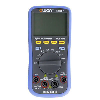 OWON B33+ DMM Digital Auto Multimeter Meter T-RMS Offline Record Bluetooth 4.0