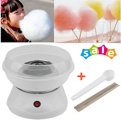 Mini Electric Cotton Candy Maker Machine Sugar Floss Countertop Store Carnival B