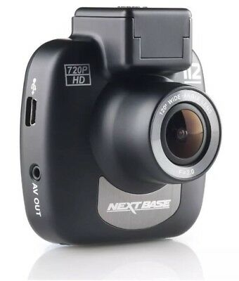 NEXTBASE 112 Go Dash Cam AA Recommended Car Safety 720P HD Wire Free Mount HiDef