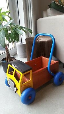 Great Gizmos - Yellow Baby Walker Truck (1+ Years) in excellent condition