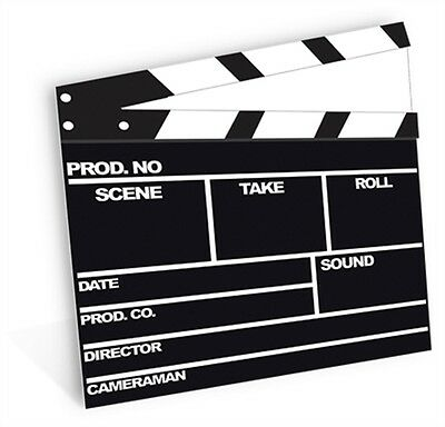 SC-161 Hollywood Clapper board Height 84cm