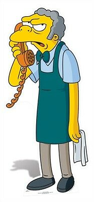 SC-617 The Simpsons-Moe Cardboard figure