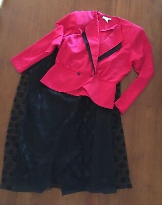 Vintage 80's Size 12 Skirt And Jacket