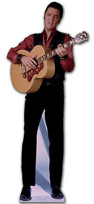 SC-242 Elvis Singing with Guitar Height 180cm