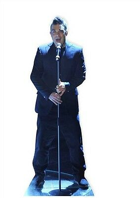 SC-389 Robbie Williams Cardboard Cut-out Figurine Cinema Lifesize